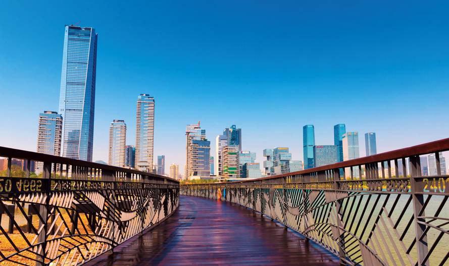 深圳人才公园正式开园 深装协代表团人才园里话人才